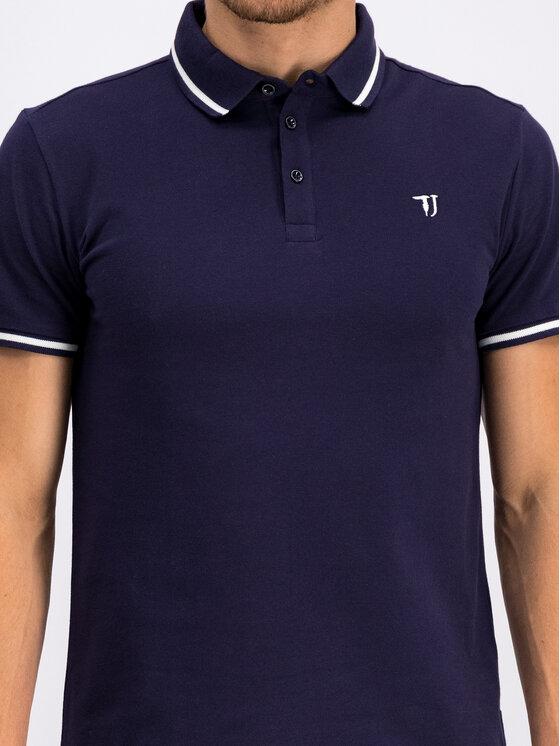Trussardi Jeans Trussardi Jeans Polo marškinėliai 52T00298 Tamsiai mėlyna Regular Fit