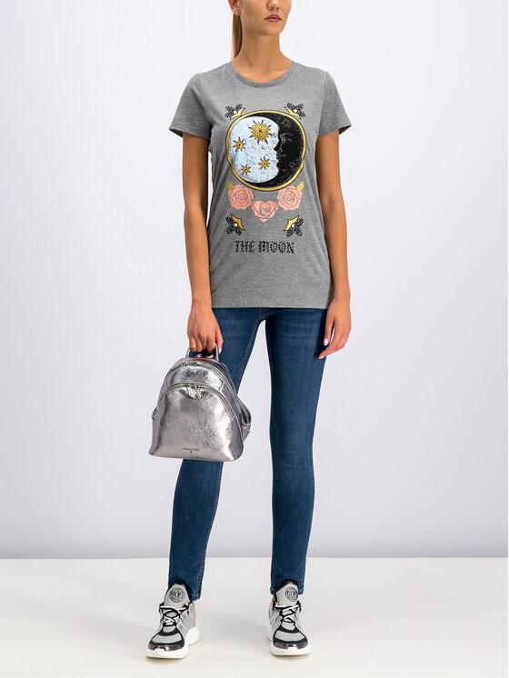 Silvian Heach Silvian Heach T-Shirt CVA19387TS Grau Regular Fit