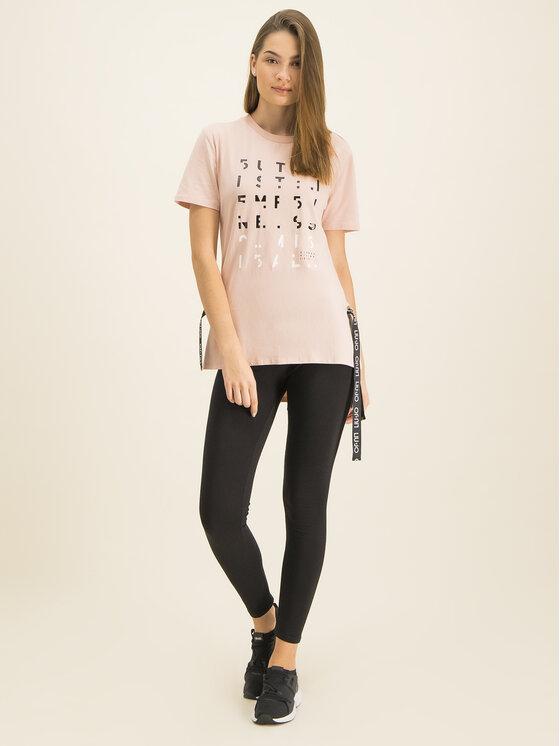 Liu Jo Sport Liu Jo Sport T-Shirt T69130 J0088 Ροζ Regular Fit