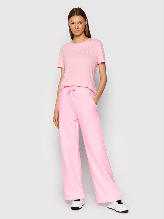 Tommy Jeans Tommy Jeans Тишърт Soft Jersey DW0DW06901 Розов Regular Fit