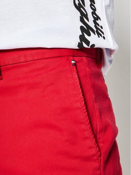 Tommy Hilfiger Tommy Hilfiger Текстилни панталони Denton MW0MW13286 Червен Straight Fit