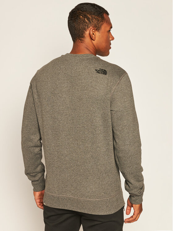 The North Face The North Face Bluza Drew Peak Crew NF0A4SVRGVD1 Szary Regular Fit