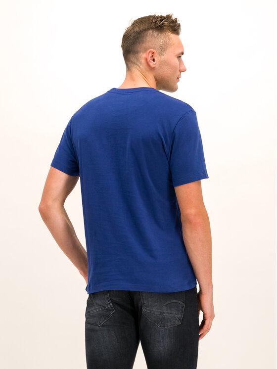 Blauer Blauer Tricou 19WBLUH02231 005568 Bleumarin Regular Fit