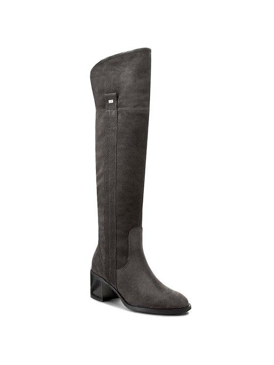 Solo Femme Solo Femme Stivali sopra il ginocchio 24701-01-F54/000-01-00 Grigio