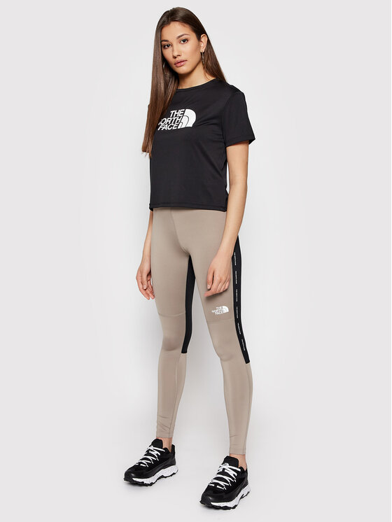 The North Face The North Face Legginsy Mountain Athletics NF0A5569VQ81 Szary Tight Fit