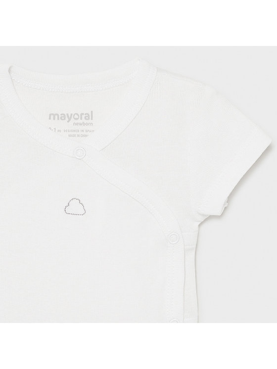 Mayoral Mayoral Body dziecięce 1789 Biały Regular Fit