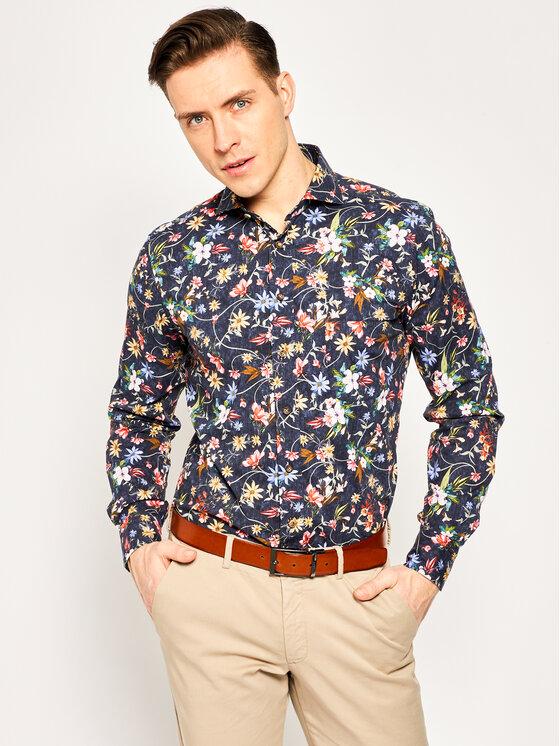 Emanuel Berg Marškiniai Harvard HV1 Spalvota Modern Fit