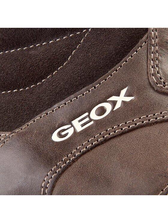 Geox Geox Schnürschuhe J Elvis E J44A4E 0CL22 C6009 D Braun