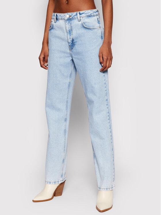 NA-KD Džinsai Contrast Pocket 1660-000582-0047-581 Mėlyna Regular Fit