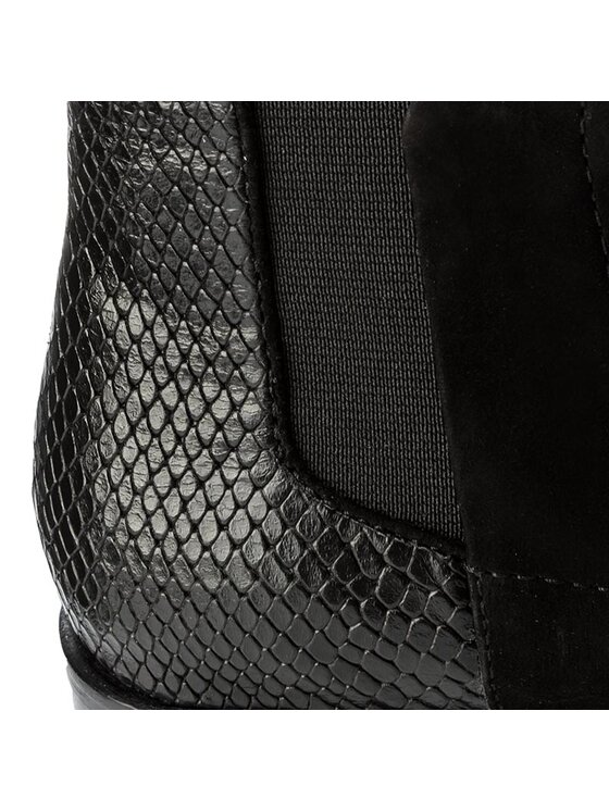 JOOP! Joop! Členková obuv s elastickým prvkom Platia 4140003563 Čierna