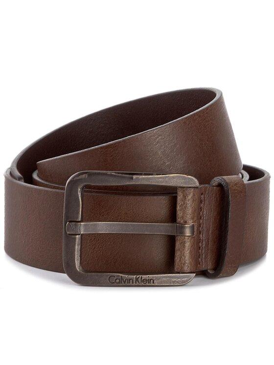 Calvin Klein Calvin Klein Cintura da uomo Luca K50K501207 100 Marrone