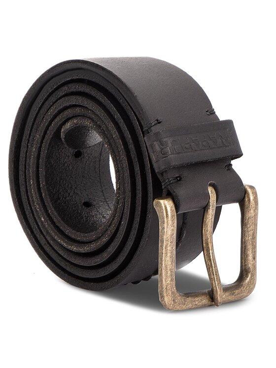 Napapijri Napapijri Pánský pásek Palaka N0YI5L 110 Černá