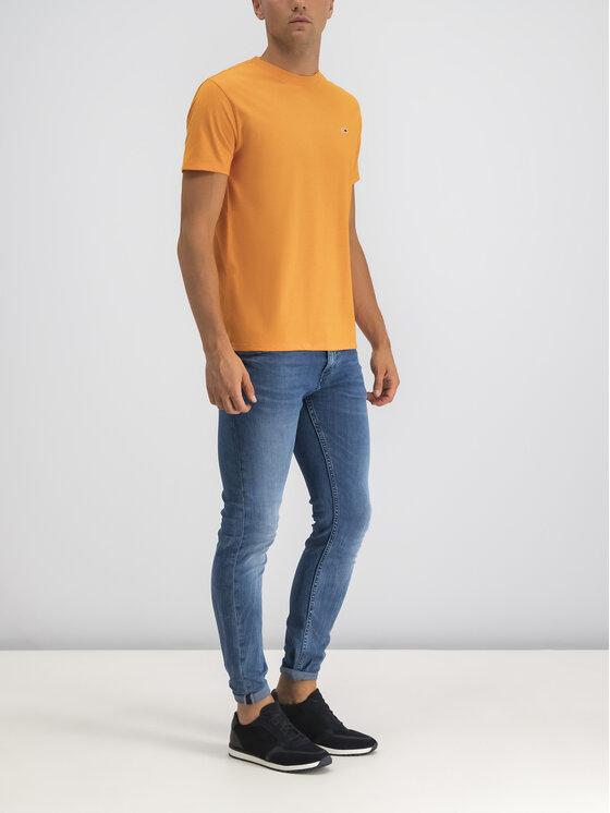 Tommy Jeans Tommy Jeans T-Shirt Blended DM0DM06539 Πορτοκαλί Regular Fit