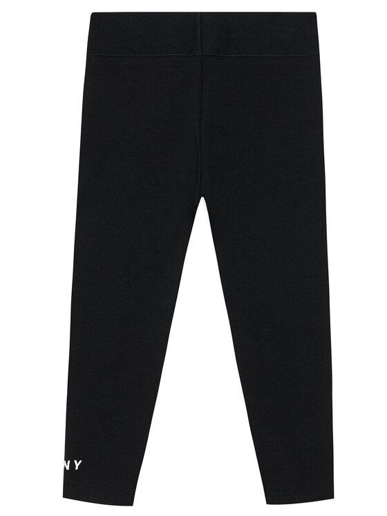 DKNY DKNY Legginsy D34A09 D Czarny Slim Fit