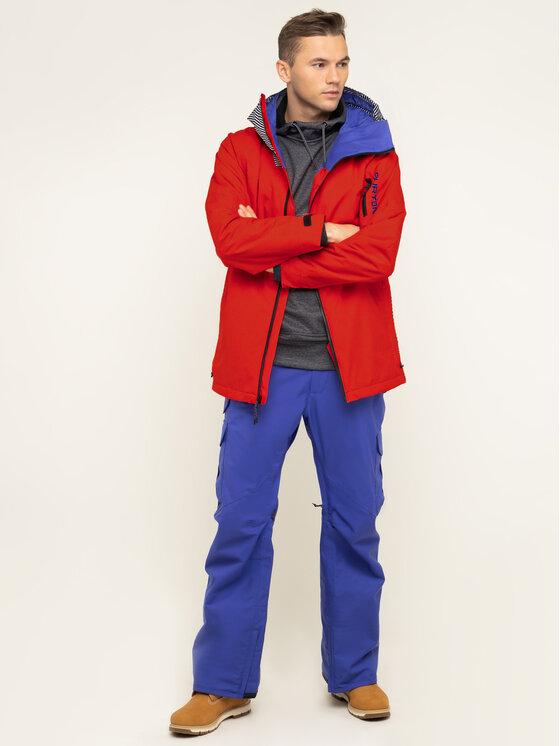 Burton Burton Snieglenčių striukė Hilltop 13066105600 Raudona Regular Fit