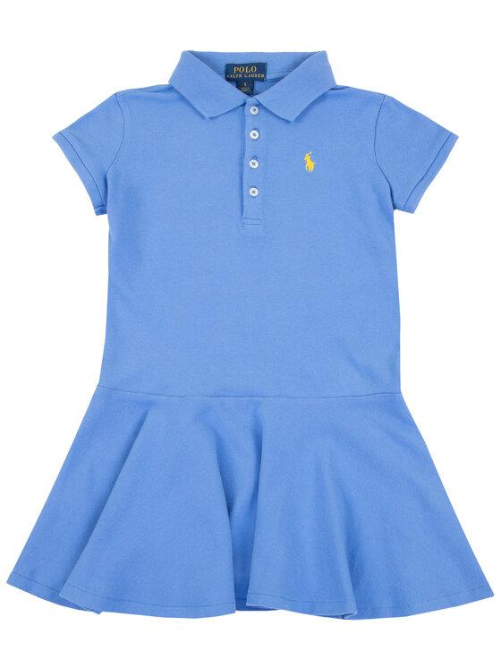 Polo Ralph Lauren Polo Ralph Lauren Ежедневна рокля Spring II 312698754 Син Regular Fit