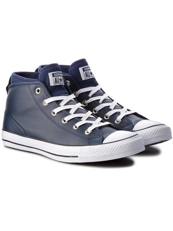 Converse Converse Sneakers aus Stoff Ctas Syde Street Mid 157539C Dunkelblau