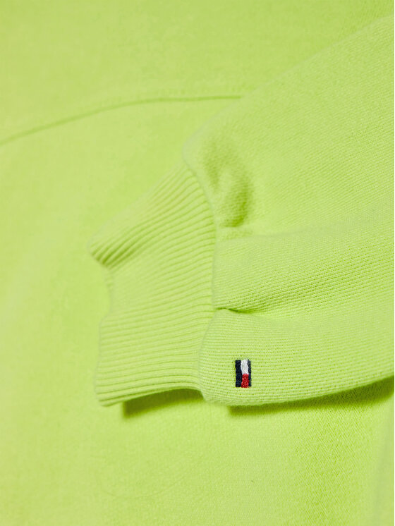 Tommy Hilfiger Tommy Hilfiger Bluza Essential KG0KG05764 D Zielony Regular Fit