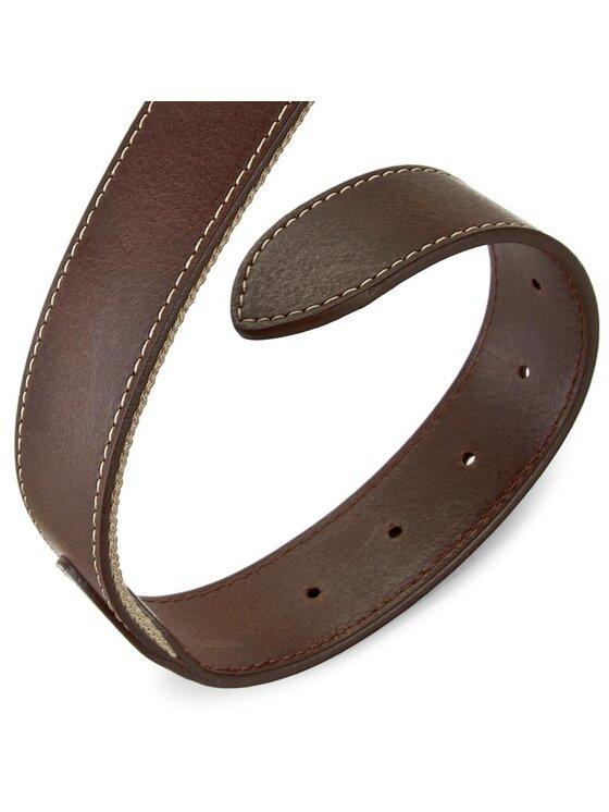 Tommy Hilfiger TOMMY HILFIGER Pánsky opasok Th Stripe Belt 3.5 Rev AM0AM00873 85