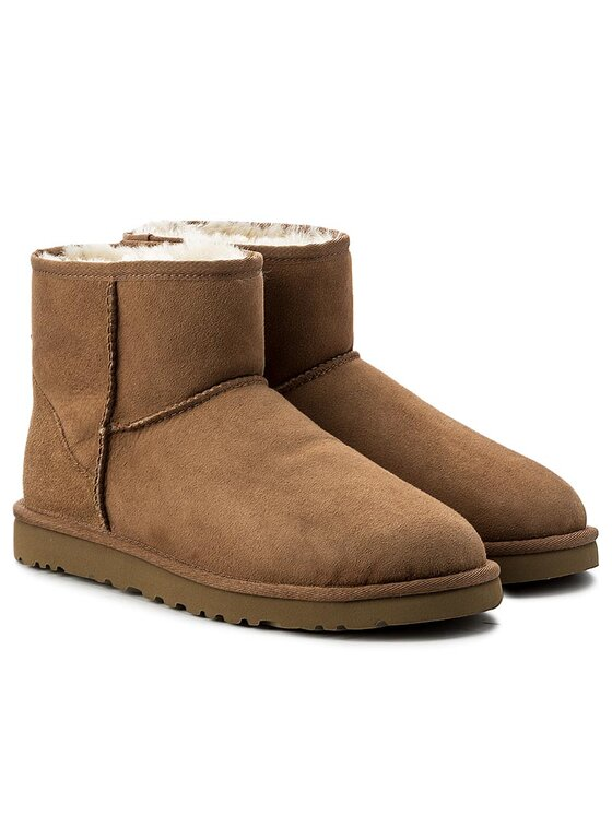 Ugg Ugg Pantofi M Classic Mini 1002072 Maro