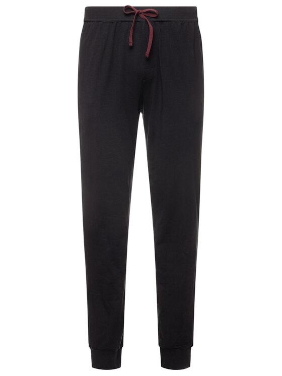 Boss Boss Pantaloni trening Mix&Match 50381880 Negru Regular Fit