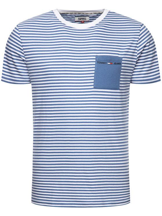 Tommy Jeans Tommy Jeans T-Shirt DM0DM07122 Μπλε Regular Fit