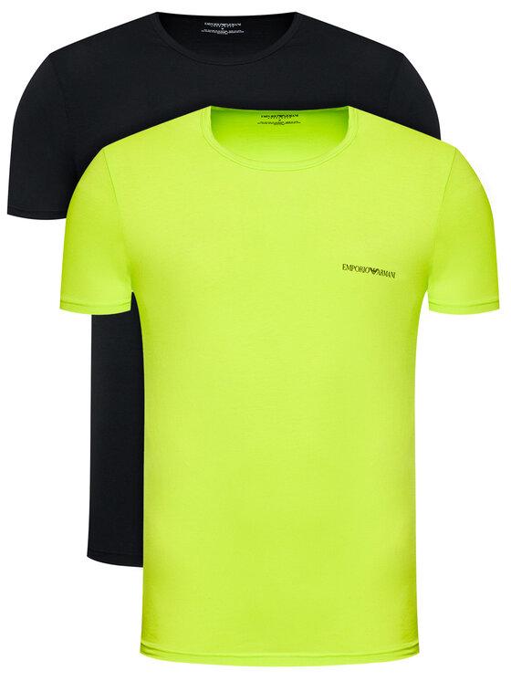 Emporio Armani Underwear 2 marškinėlių komplektas 111267 1P717 46120 Spalvota Regular Fit