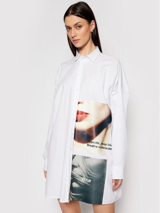 Ice Play Marškiniai 21E U2M0 G061 P100 1101 Balta Regular Fit