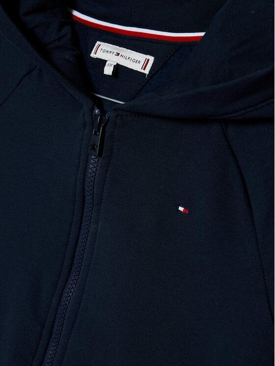 Tommy Hilfiger Tommy Hilfiger Bluza Essential Zip KG0KG05491 D Granatowy Regular Fit