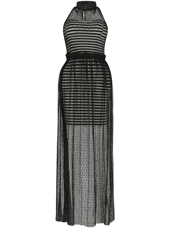 Guess Guess Φόρεμα βραδινό W92K0L K8IZ0 Μαύρο Regular Fit