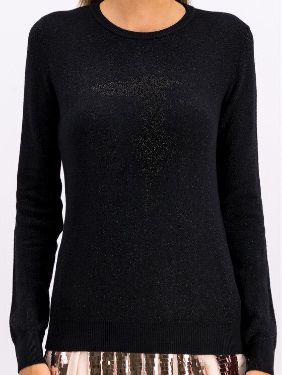 Trussardi Trussardi Sweater 56M00216 Fekete Regular Fit