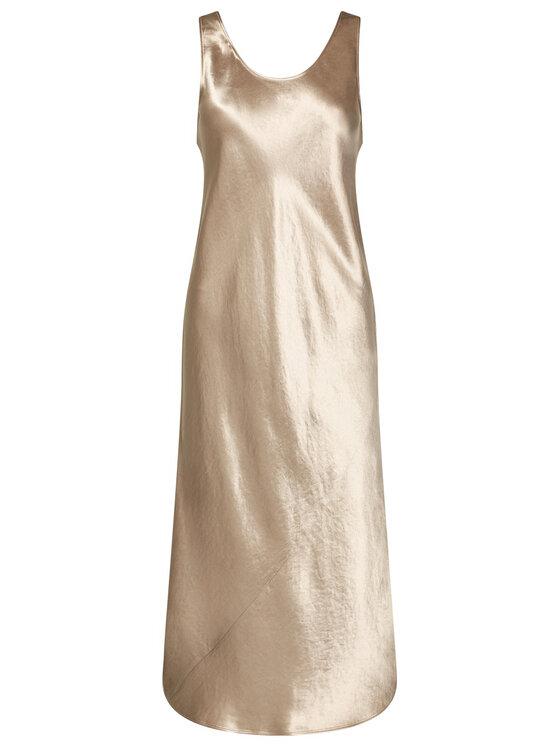 Max Mara Leisure Max Mara Leisure Koktejlové šaty Talete 32260206 Stříbrná Regular Fit