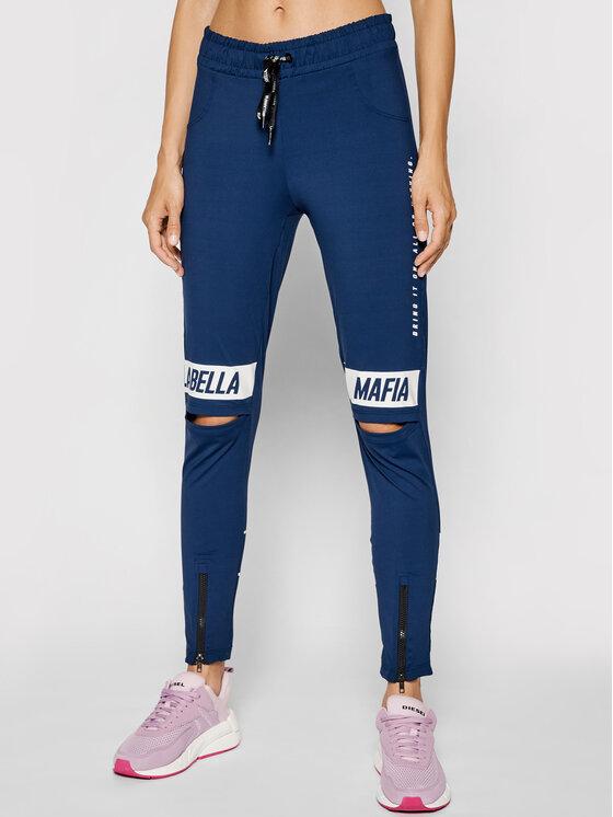LaBellaMafia Leginsai 21010 Tamsiai mėlyna Slim Fit