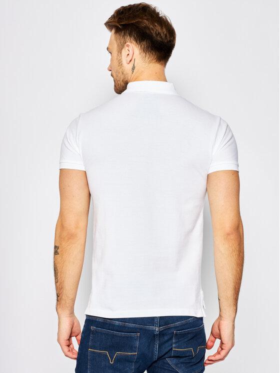 Polo Ralph Lauren Polo Ralph Lauren Тениска с яка и копчета Core Replen 710548797 Бял Slim Fit