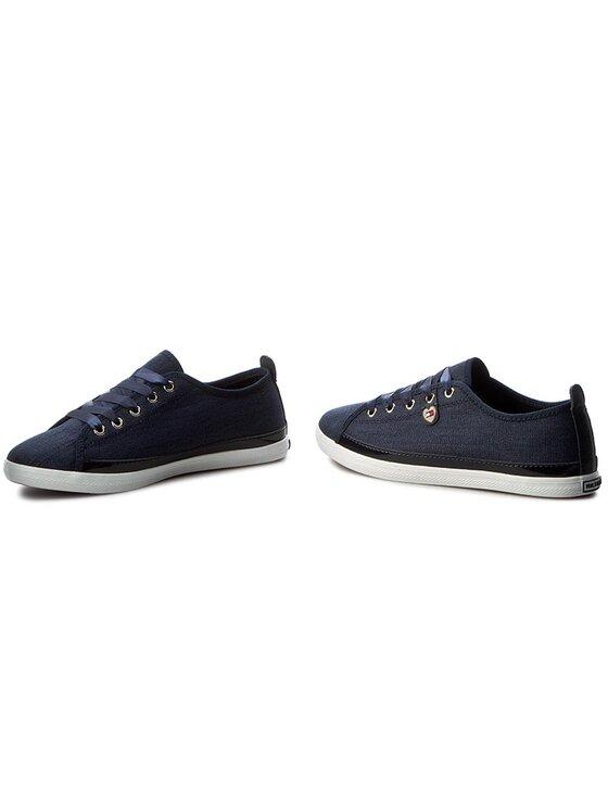 Tommy Hilfiger Tommy Hilfiger Πάνινα παπούτσια Keira Hg 1D1 FW0FW00392 Σκούρο μπλε