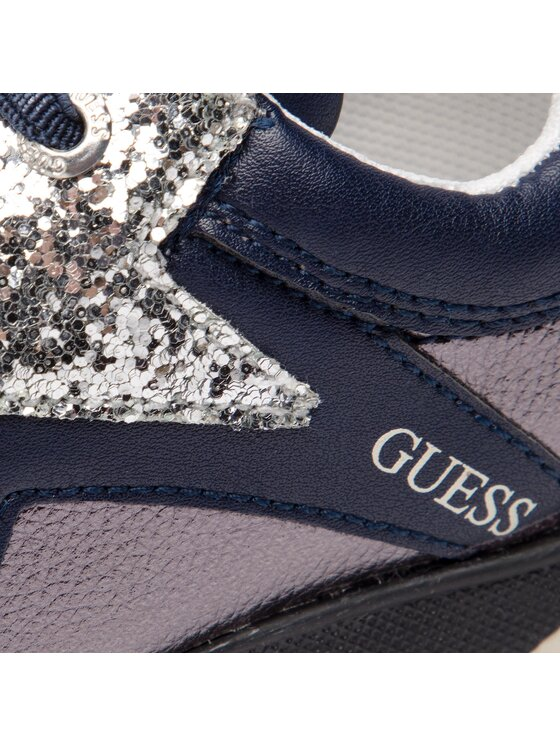 Guess Guess Sneakersy Litzy FI5LIT ELE12 Granatowy