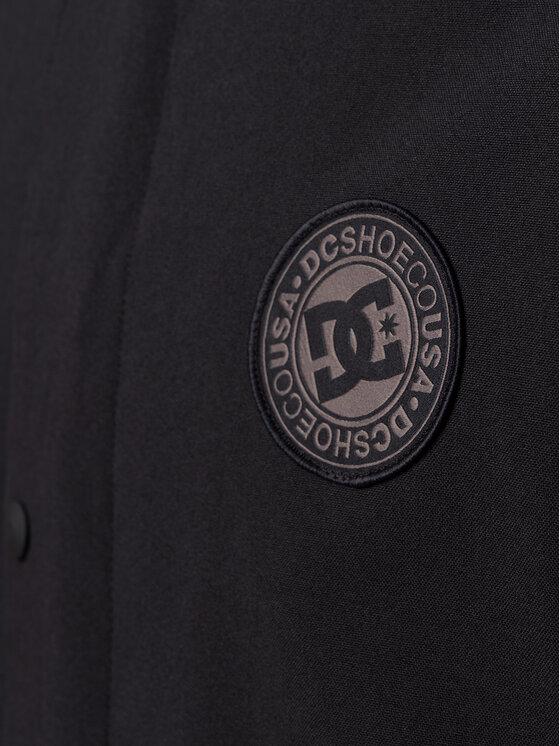DC DC Snieglenčių striukė EDYTJ03089 Juoda Regular Fit