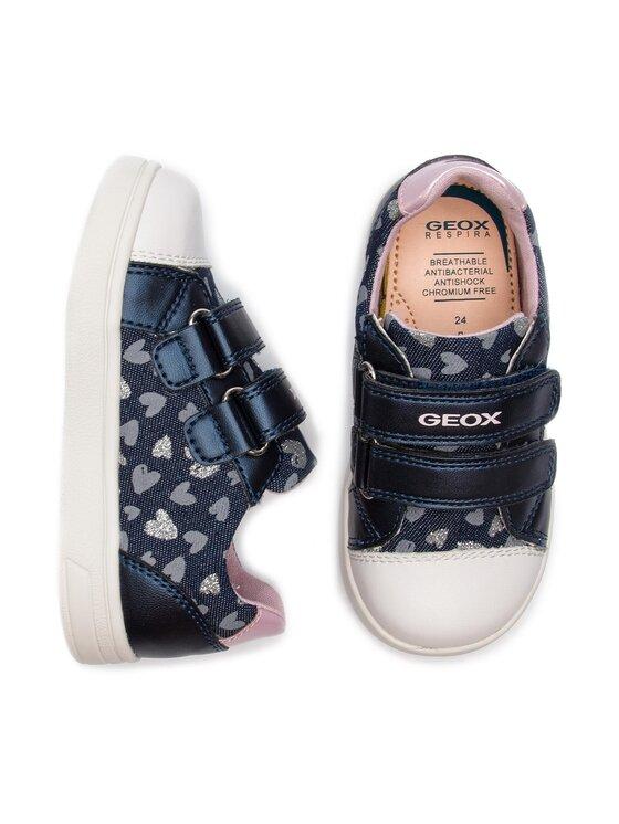Geox Geox Sneakersy B Djrock Girl E B921WE 0SBNF C4B8T S Tmavomodrá