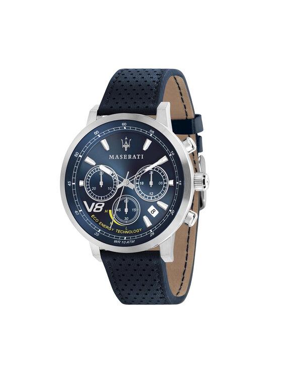 Maserati Laikrodis Gt Eco Energy R8871134002 Tamsiai mėlyna