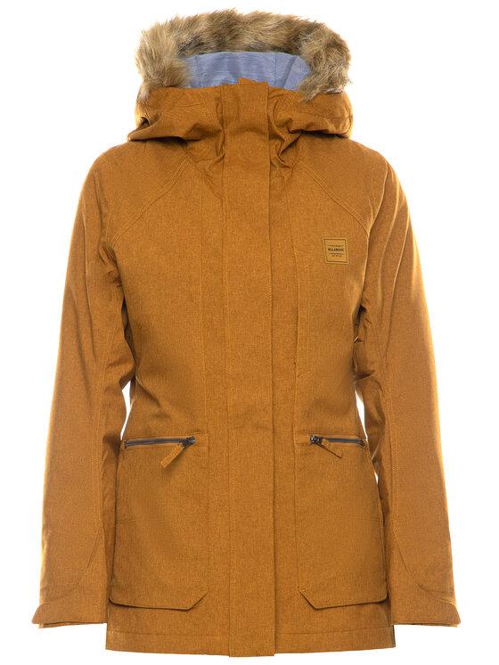 Billabong Billabong Сноуборд яке Into The Forest Q6JF08 BIF9 Жълт Tailored Fit