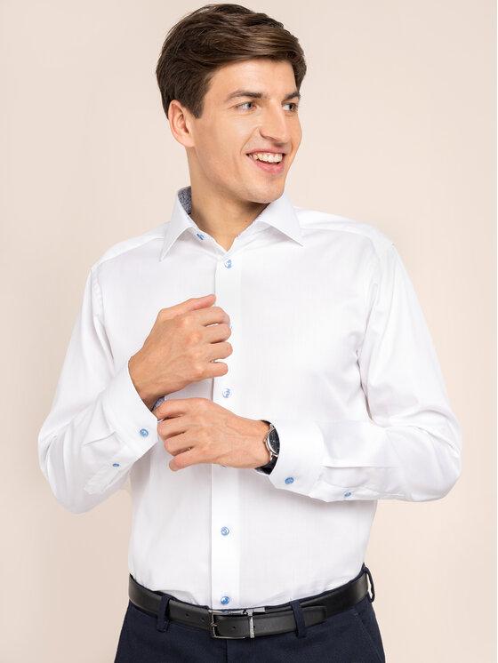Eton Marškiniai 100000474 Balta Slim Fit