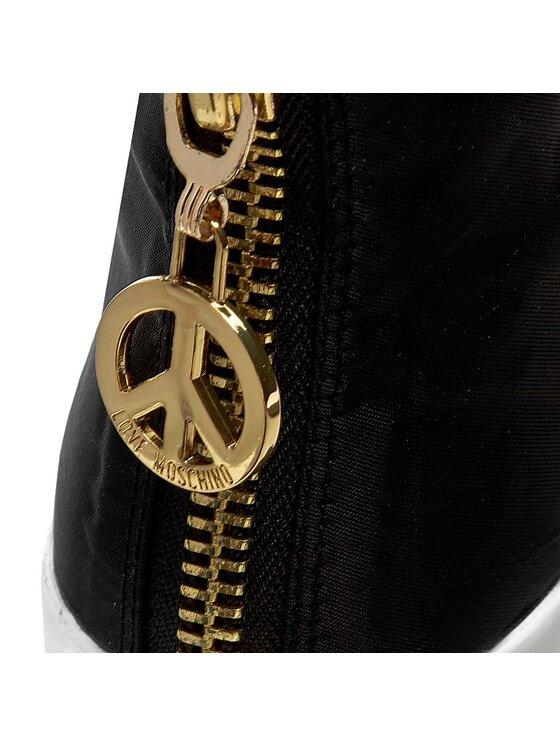 LOVE MOSCHINO LOVE MOSCHINO Sneakersy JA15063G12IJ200A Czarny