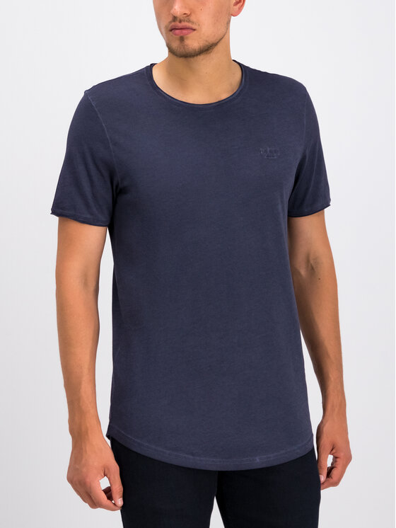JOOP! Jeans Joop! Jeans T-Shirt 30008485 Granatowy Regular Fit