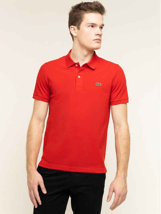 Lacoste Lacoste Polo PH4012 Rouge Slim Fit