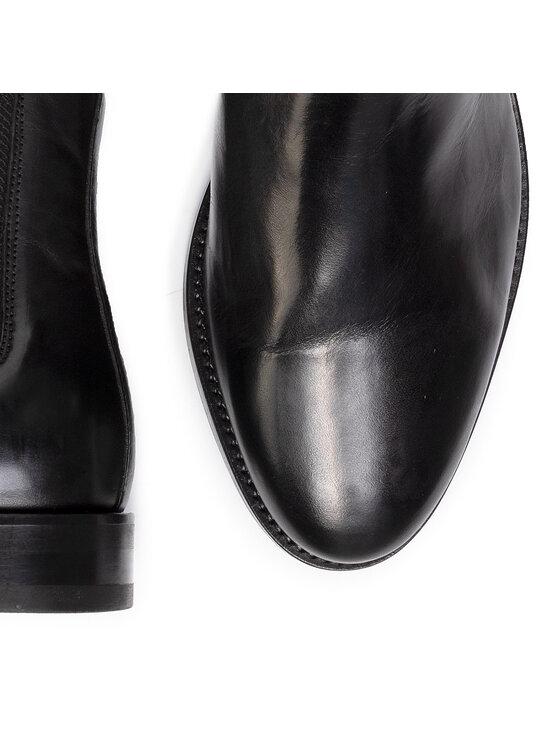 Gant Gant Kotníková obuv s elastickým prvkem Max 19651891 Černá