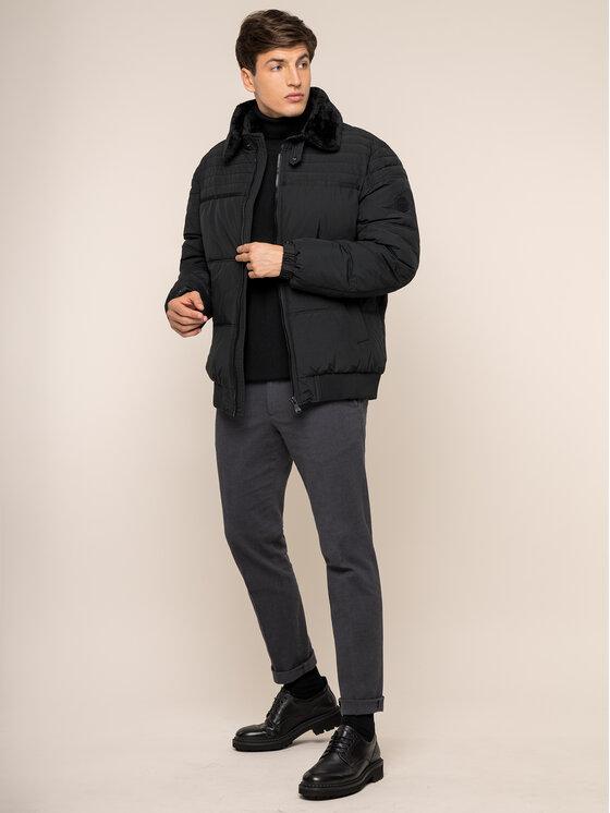 JOOP! Jeans Joop! Jeans Žieminė striukė 30017247 Juoda Regular Fit