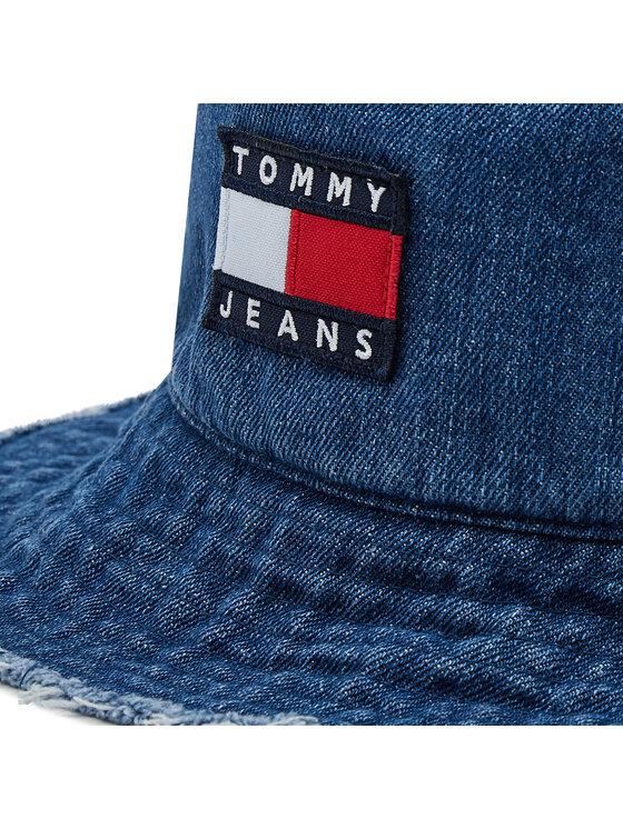 Tommy Jeans Tommy Jeans Bucket kapa Heritage Denim AW0AW10184 Plava