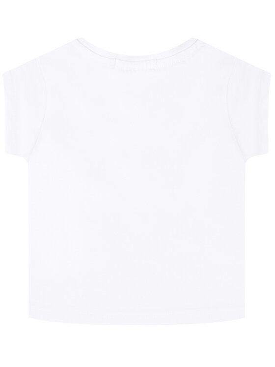 Calvin Klein Jeans Calvin Klein Jeans Marškinėliai Monogram Cropped IG0IG00419 Balta Regular Fit