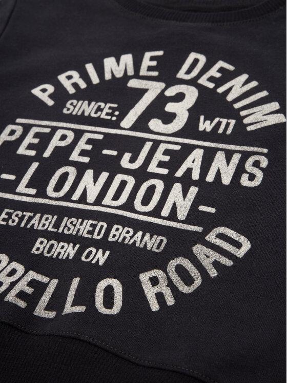 Pepe Jeans Pepe Jeans Džemperis Steff PB581171 Juoda Regular Fit