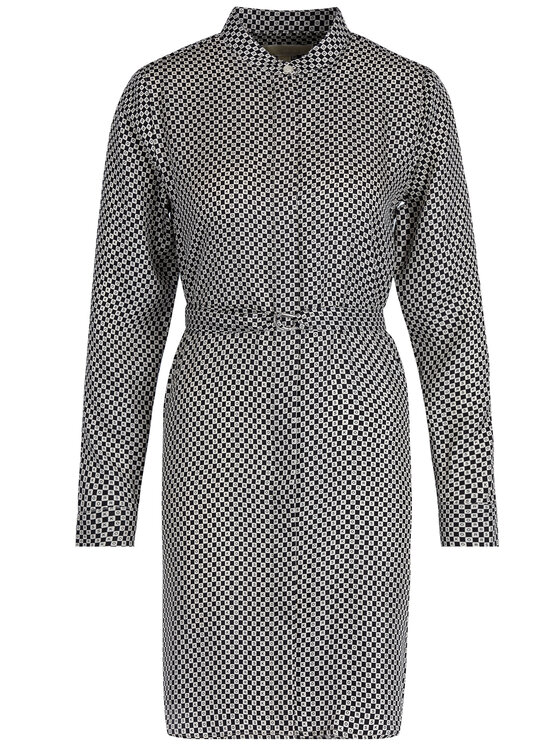 MICHAEL Michael Kors MICHAEL Michael Kors Košilové šaty MU98WNCC7G Černá Regular Fit